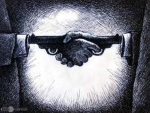 Gun-Handshake-War-Peace